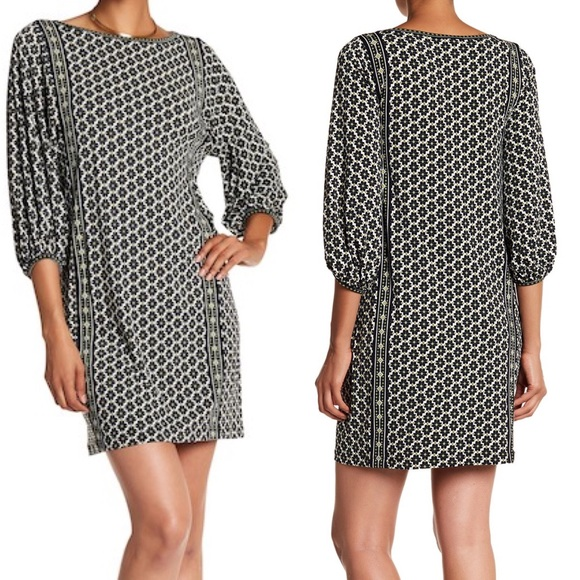 7961ecfd59d Max Studio Dresses | Size Large Print Jersey Shift Dress Nwt | Poshmark